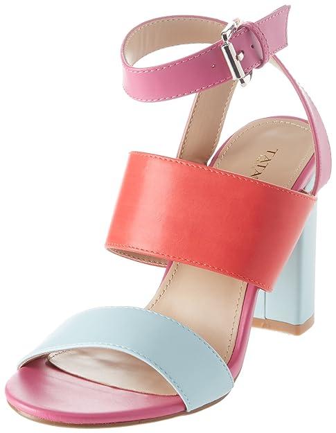 Ital-Design - Aperte Sulla Caviglia Donna , multicolore (Lila Multi), 38