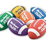 Junior Size Footballs Mulitcolor - Set of 6
