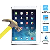 Visibee - Premium HD Tempered Glass Screen Protector for New Apple iPad Air 1, iPad Air 2, iPad Pro 9.7inch