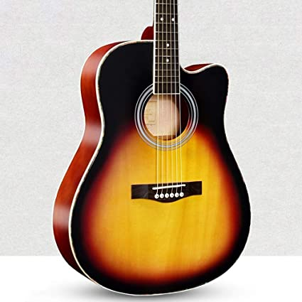 Loivrn Guitarra de baile folclórico 41 pulgadas 40 pulgadas ...