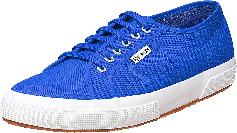 Superga  2750-cotu Classic, Chaussures de Gymnastique Mixte Bleu Blue Royal M29