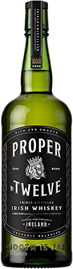 Proper - No.Twelve 12 Connor McGregor Irish - Whisky: Amazon.es: Alimentación y bebidas
