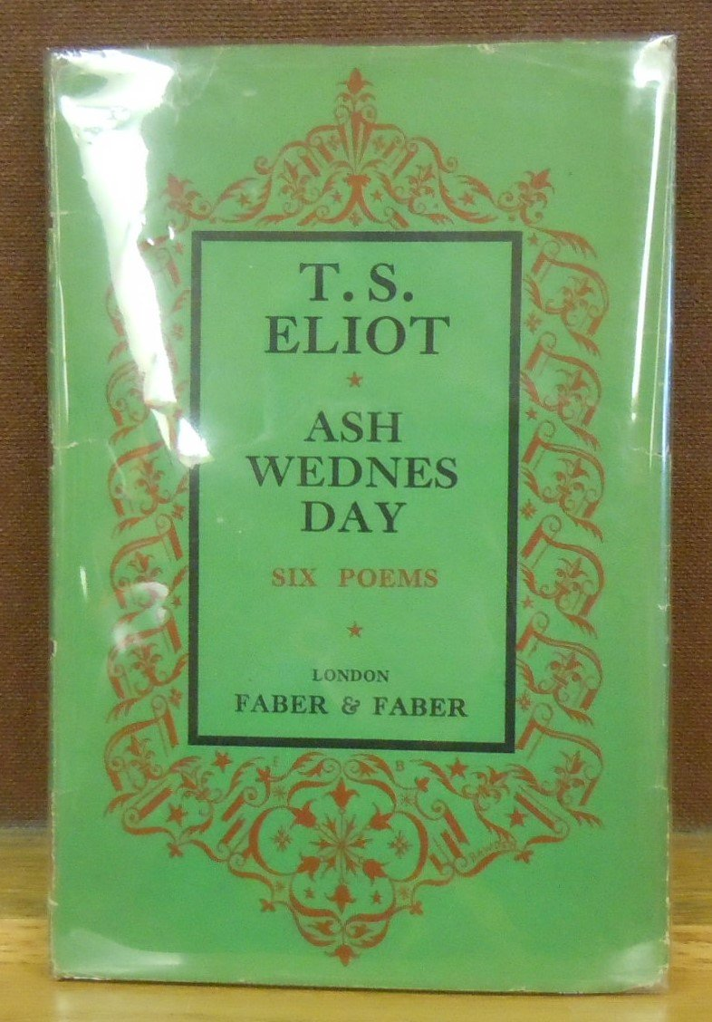 Ash Wednesday Ts Eliot Amazon Books