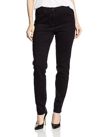 GINA LAURA Große Größen Damen bis 3XL , Basic Jeans Julia , Slim Fit , Stretch Bund , Normale Leibhöhe , 707957