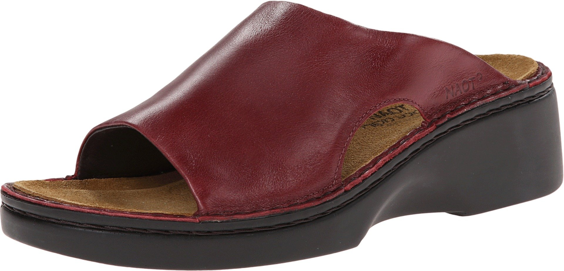 Naot Women's Rome Wedge Sandal, Rumba, 39 EU/8 M US by NAOT
