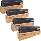 Toshiba T-FC505U-K T-FC505U-C T-FC505U-M T-FC505U-Y e-Studio 2505 3005 3505 4505 5005 Toner Cartridge Set (Black Cyan Magenta