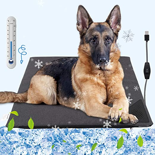 Amazon Com Pawaboo Dog Cooling Mat Water Cooling Dog Pad Blanket Summer Sleeping Cushion To Keep Pets Cool Comfortable Waterproof Cool Pad Sleep Bed Mat For Dogs Cats Rabbits Hamsters Dragon
