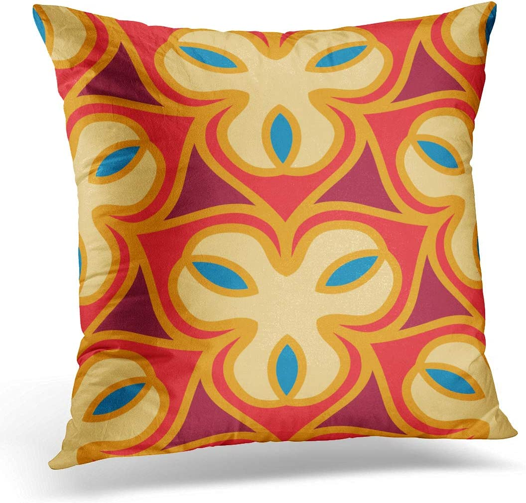 Emvency Throw Pillow Cover Morrocan