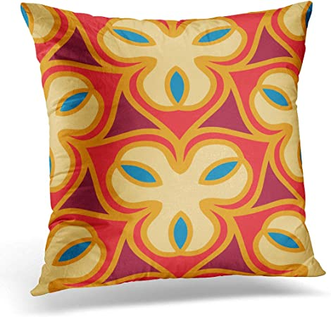 Emvency Throw Pillow Cover Abstract