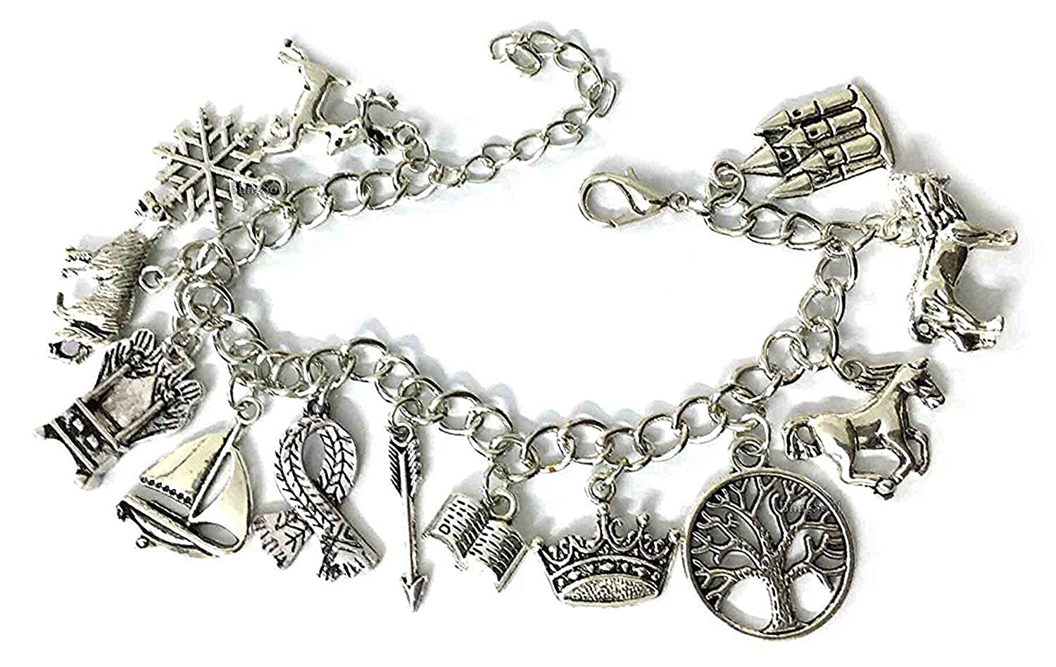 The Chronicles of Narnia Themed Charms Charm BRACELET