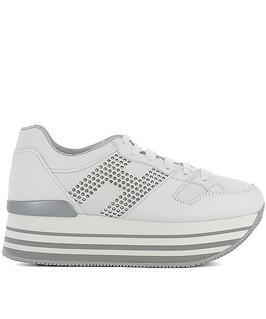 b4b295dded2e Hogan - Zapatillas para Mujer Blanco Weiß IT - Marke Größe, Color Blanco,  Talla 40 EU  Amazon.es  Zapatos y complementos