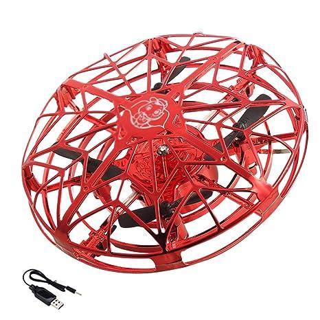 UFO Sensor Aviones Xiaofeixian Control Remoto Drone de Cuatro Ejes ...