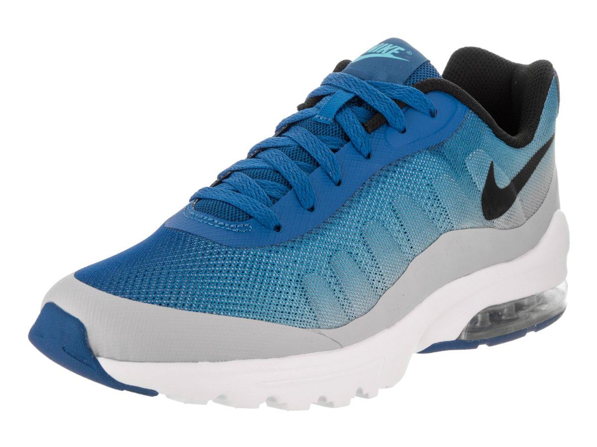 NIKE Men's Air Max Invigor Print Running Shoes B004WRWJPQ 10.5 D(M) US|Blue Jay/Black/Wolf Grey/Blue Fury