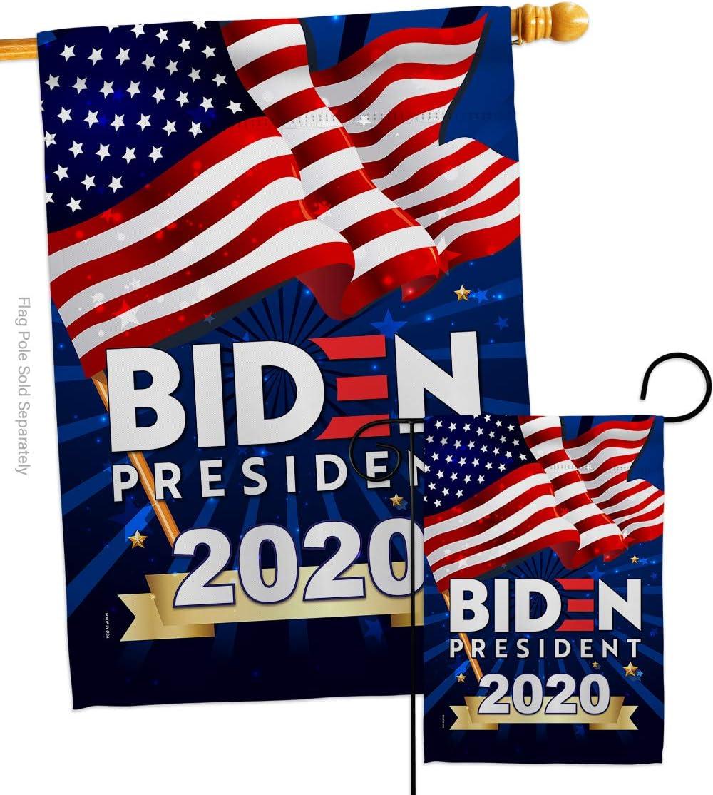 USA Decoration Biden 2020 Garden New Oakland Mall item House Vote Patriotic J Set Flag