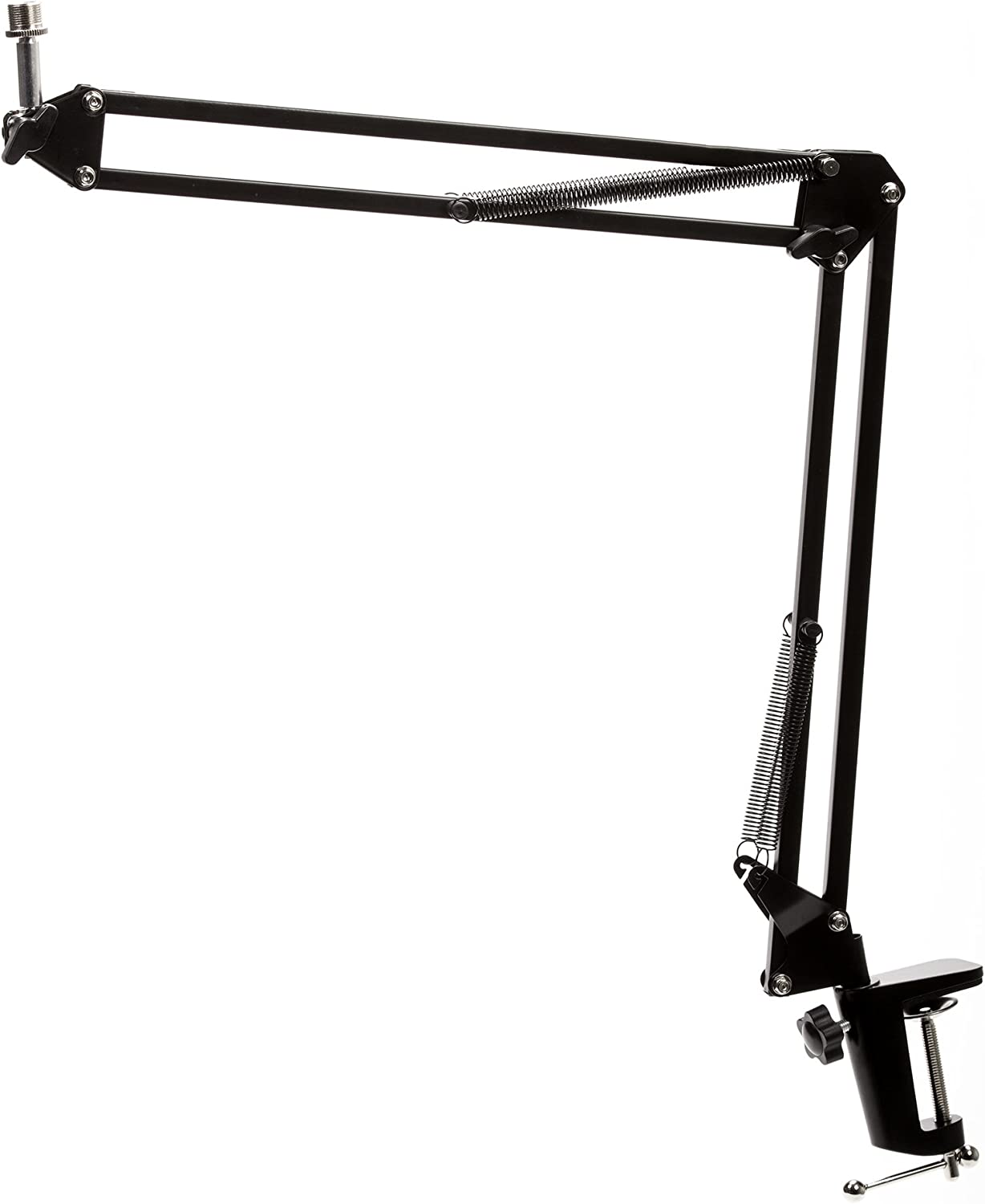 Knox Gear Microphone Desktop Book Arm - Black