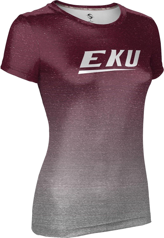 7c70b7ff5 ProSphere Eastern Kentucky University Women's T-Shirt - Ombre at Amazon  Women's Clothing store: