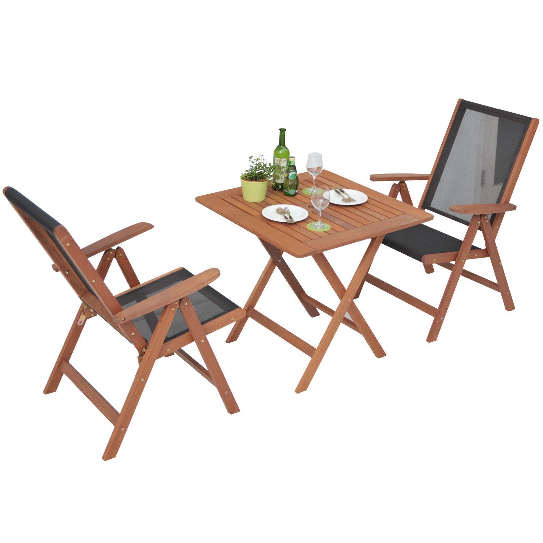 山善(YAMAZEN) テーブルチェアセット ガーデンマスター フォールディング テーブル&チェア(3点セット) MFT-88192&MFC-259(2脚) B003MZR9VS