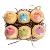 Amazon Price History for:Bath Bombs,6 Organic Essential Oils Bath Bombs Gift Set Lush Fizzies-Best Birthday Gifts for Women,Teen Girls,Mum-Add to Bubble Bath Basket