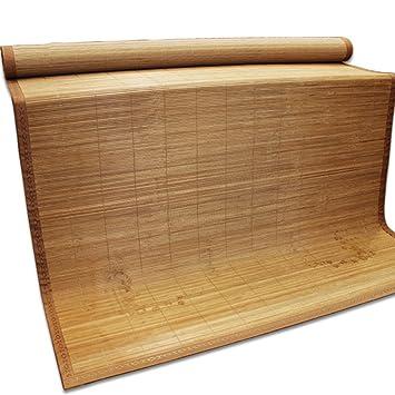 LWFB Colchoneta de verano para dormir / Colchoneta de enfriamiento de bambú Colchón / Colchoneta de