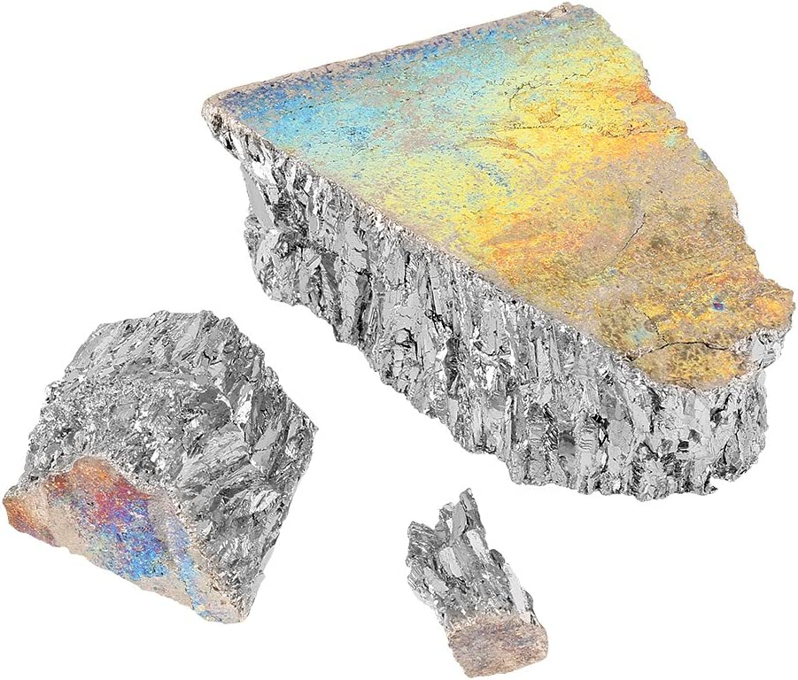 99.99/% Pure Crystal Geodes for Making Crystal//Fishing Lures DeWin 1000g Bismuth Metal Lingot Chunk