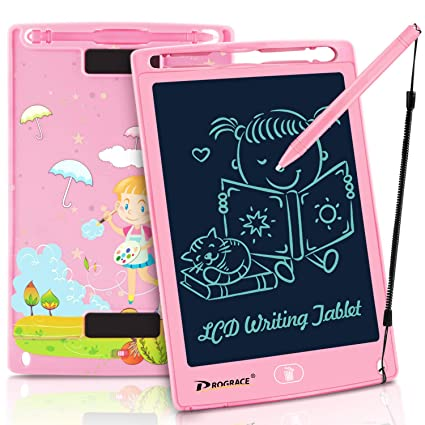Amazon.com: PROGRACE LCD Writing Tablet for Kids Learning ...