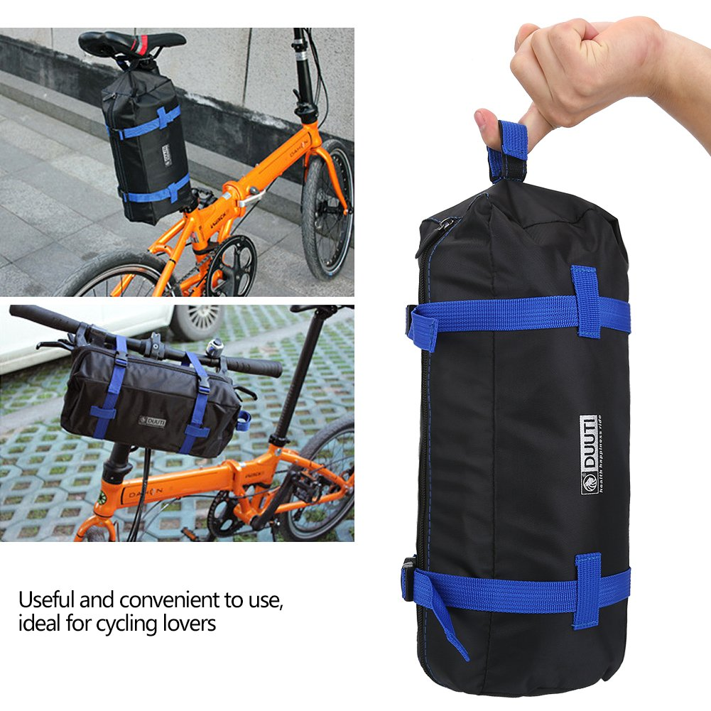 VGEBY Bike Travel Cases Transport Carrying Bag with Saddle Bag for 14-20 inch Foldable Bicycle by VGEBY (Image #6)