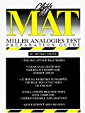 Cliffs MAT (Miller Analogies Test) Preparation Guide, Michele Spence, 0822020513