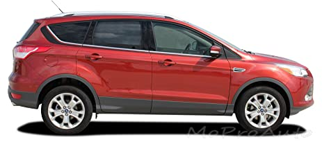 ford escape 2018 colors. runaround : 2013-2018 ford escape mid body line vinyl graphic decal stripes (fits 2018 colors