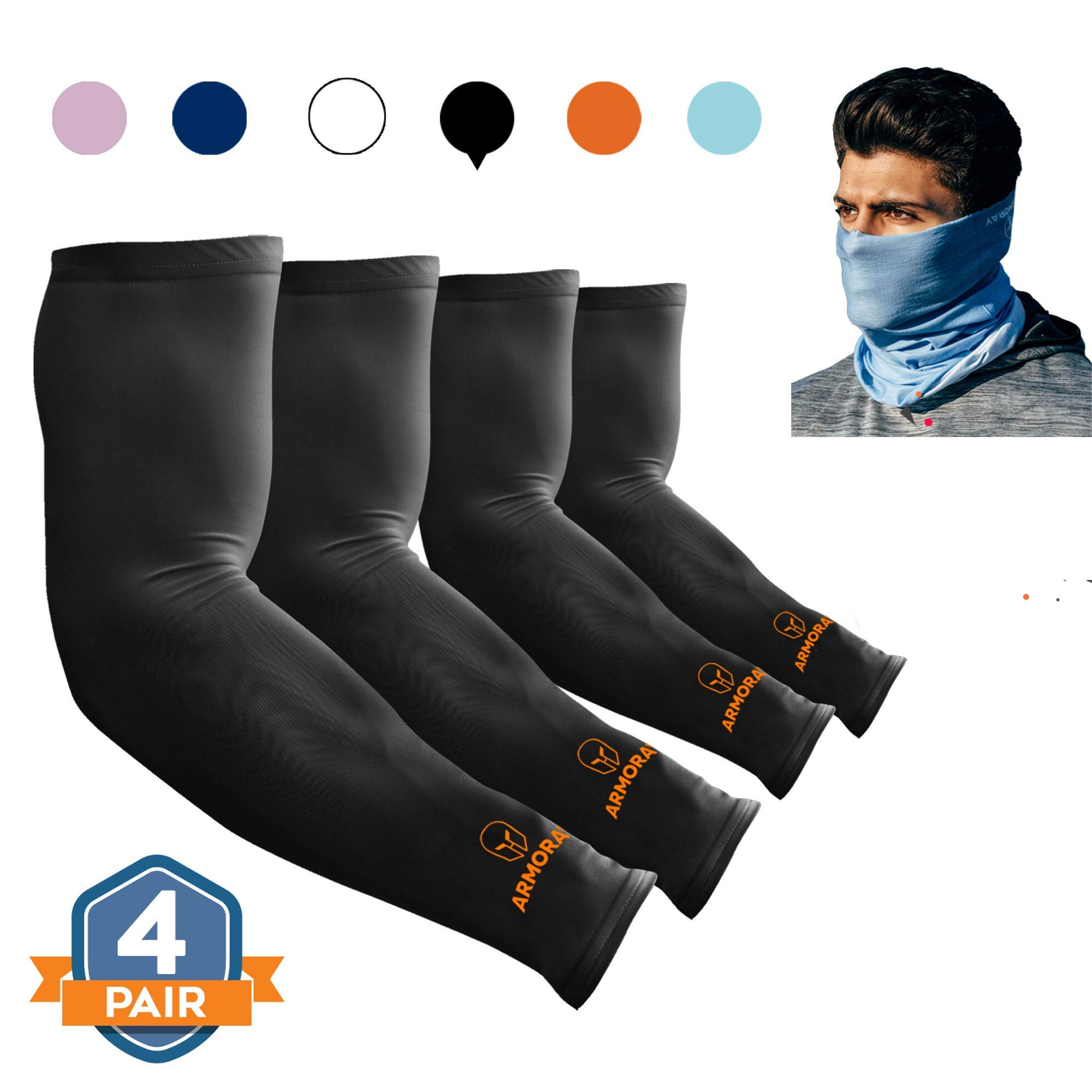 ARMORAY Arm Sleeves for Men or Women