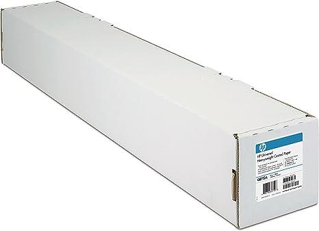 HP C6020B - Rollo de papel recubierto (914 mm x 45,7 m): Brand: Amazon.es: Oficina y papelería