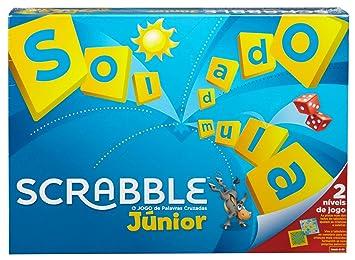 Mattel Games Scrabble Junior Portugues Juego Mesa Ninos Mattel Y9827
