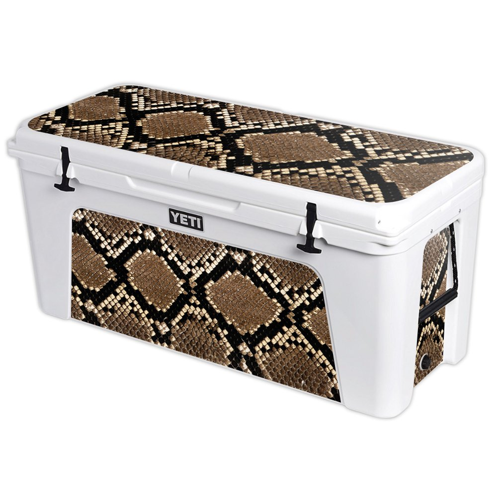 MightySkins Protective Vinyl Skin Decal for YETI Tundra 160 qt Cooler wrap Cover Sticker Skins Rattler by MightySkins (Image #1)