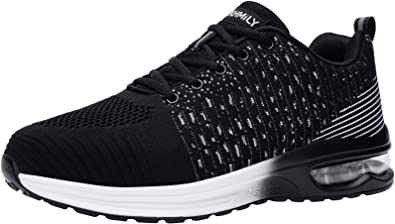 Fenlern Waterproof Safety Trainers for Men Steel Toe Cap Safety Shoes Breathable Lightweight Work Trainers