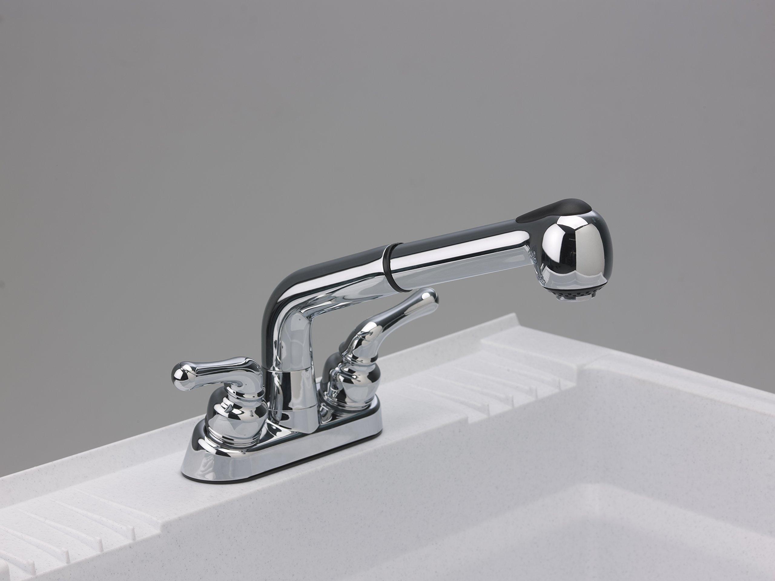 CASHEL 1960-32-02 Heavy Duty Sink - Fully Loaded Sink Kit, Granite by Cashel (Image #5)
