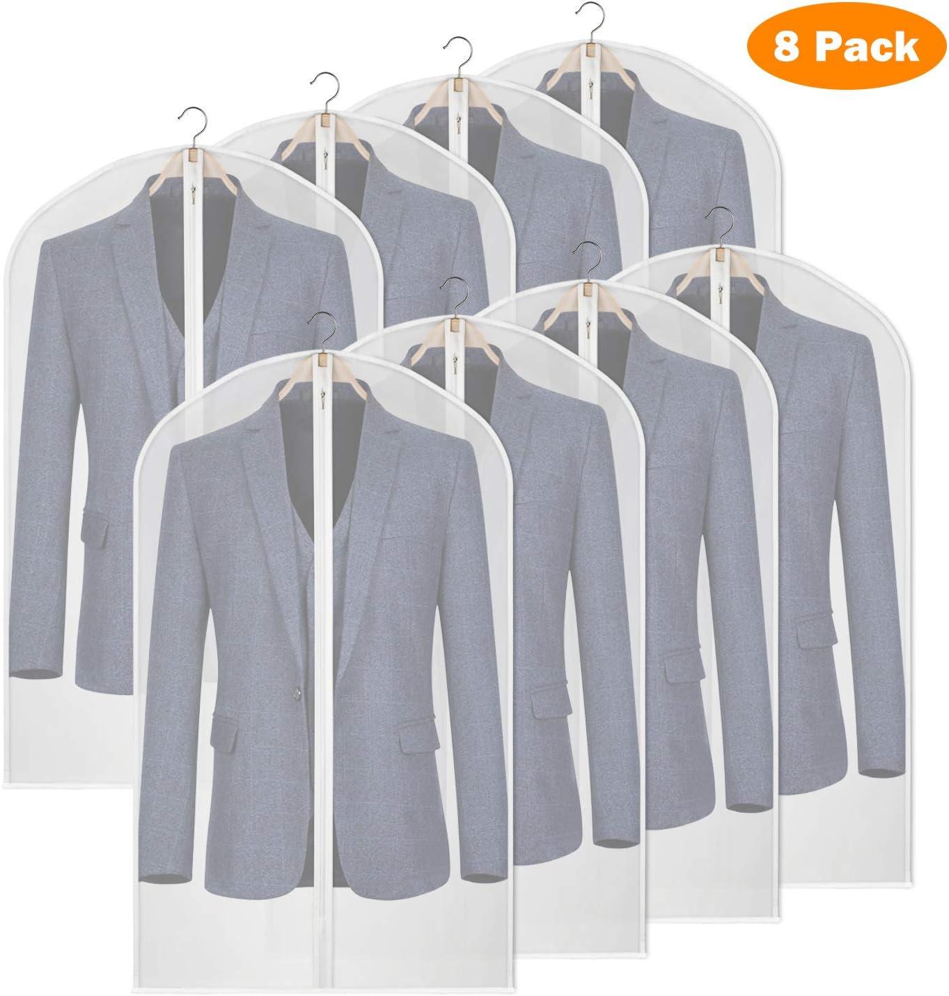 Clothes Dress Garment Cover Bag Dustproof Coat Skirt Storage Protector 3 Sizes