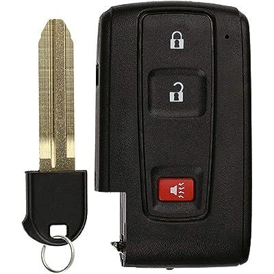 KeylessOption Keyless Entry Remote Smart Car Key Fob for Toyota Prius 2004-2009 FCC ID: MOZB31EG (DIY Step-by-Step Programming Instruction Included): Automotive [5Bkhe0905072]