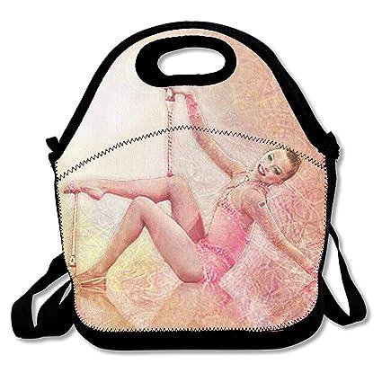 a60fd668e3f1 Amazon.com: Rhythmic Gymnastics Exercise With Clubs Lunch Bag ...
