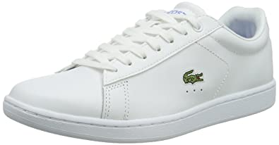 4ae0230cd023a1 Lacoste Women 731SPW0029 Low-Top White Size  9 UK  Amazon.co.uk ...