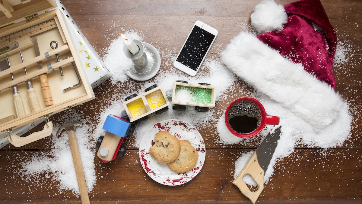 Amazon.com : Barnie\'s Coffee & Tea Santa\'s White Christmas, Ground ...