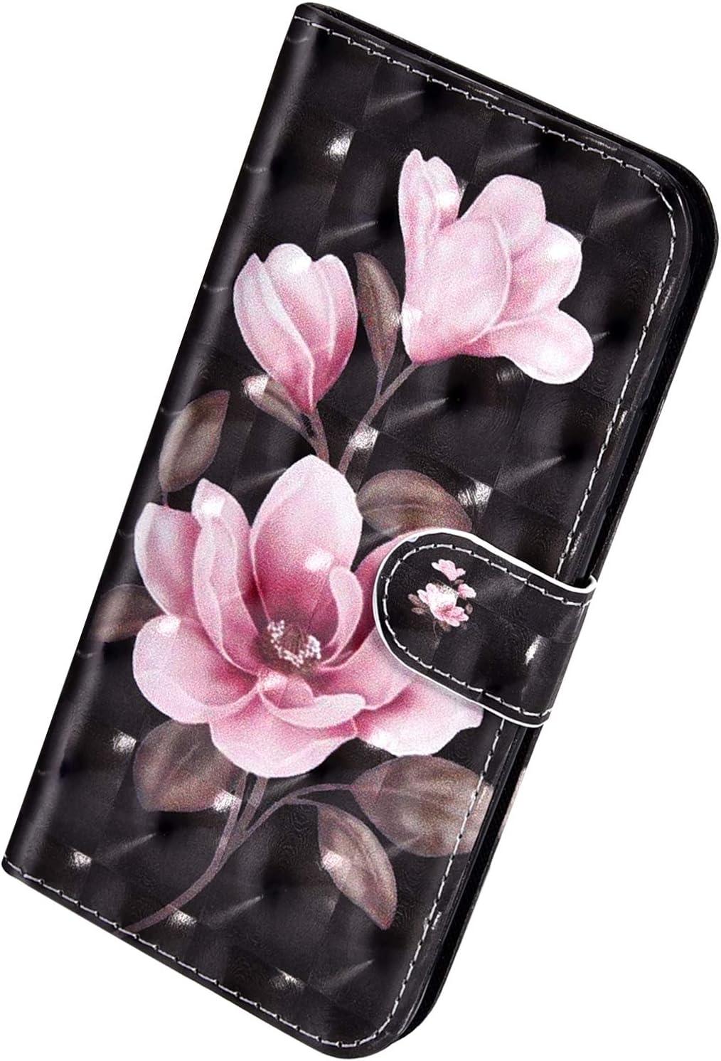 Herbests Kompatibel mit Xiaomi Redmi 6A Handyh/ülle H/ülle Flip Case Bunt Glitzer Muster Leder Schutzh/ülle Klappbar Bookstyle Lederh/ülle Ledertasche mit Magnet Kartenfach,Cool Panda
