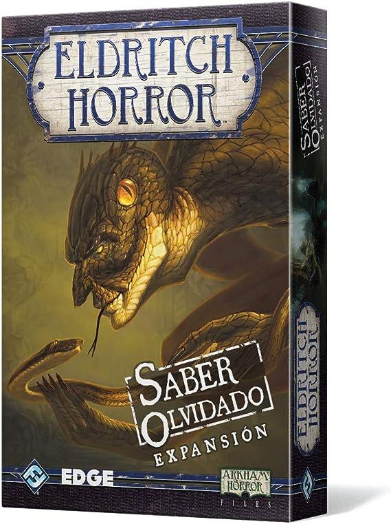 Edge Entertainment - Saber Olvidado: Eldritch Horror, Juego de Mesa (EDGEH02): Amazon.es: Juguetes y juegos