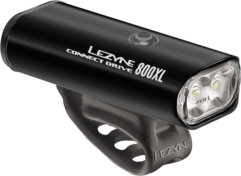 Lezyne Connect Drive 800XL Black Strip 150 Bike Light Set