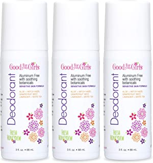 product image for 3 Pack, Good For You Girls Aluminum Free Natural Deodorant, Kids, Teens, Vegan, Gluten Free, 3 fl. oz (Fresh Honeydew)