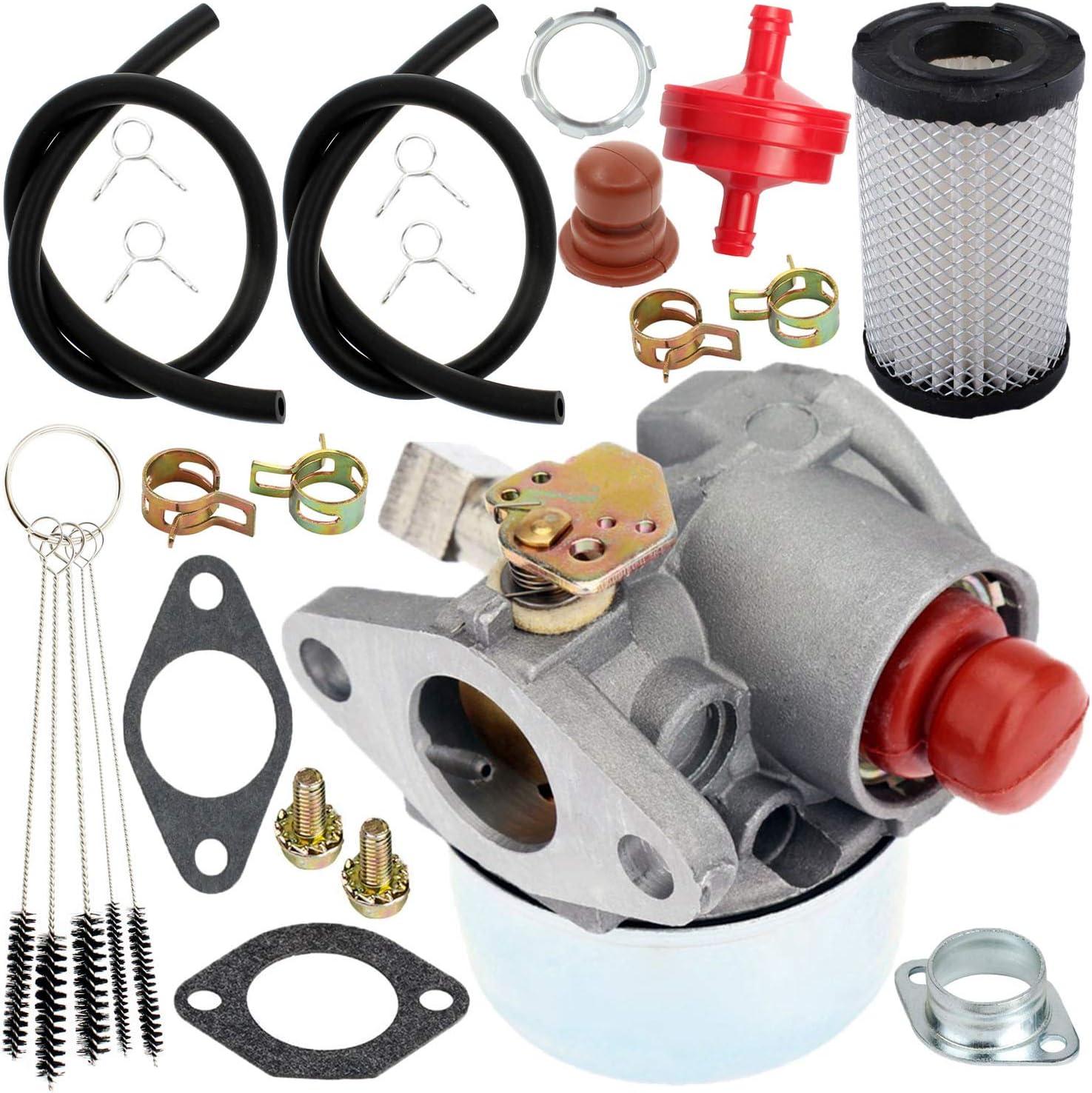 YOFMOO Carburetor Air Filter Compatible for Tecumseh 632795 632795A TVS75 TVS90 TVS100 TVS105 TVS115 TVS120 ECV100 TVXL90 TVXL105 TVXL115 LAV30 LAV35 LAV40 LAV50 TNT120 4.5HP 5HP Craftsman Lawnmower