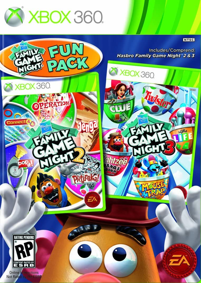 Amazon Hasbro Family Game Night Fun Pack