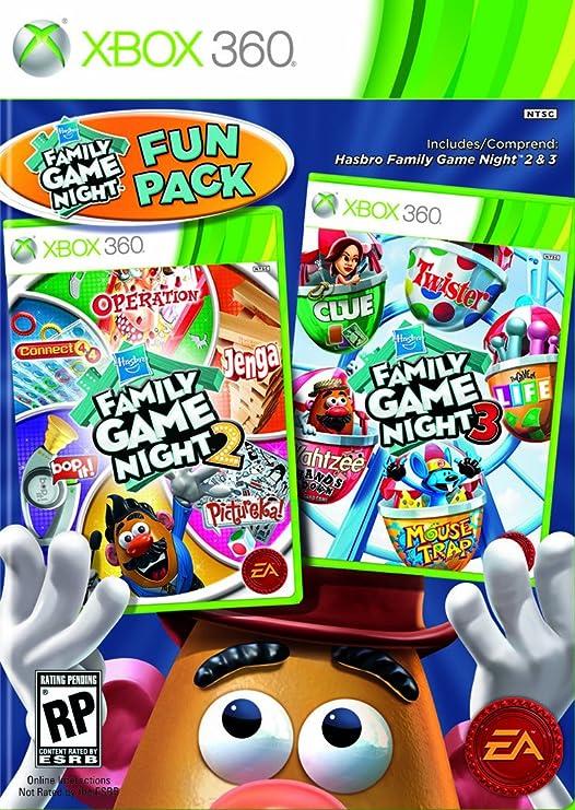 Electronic Arts Family Game Night Fun Pack, Xbox 360 - Juego (Xbox ...