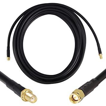 Cable de extensión coaxial de baja pérdida (50 Ohm) SMA ...