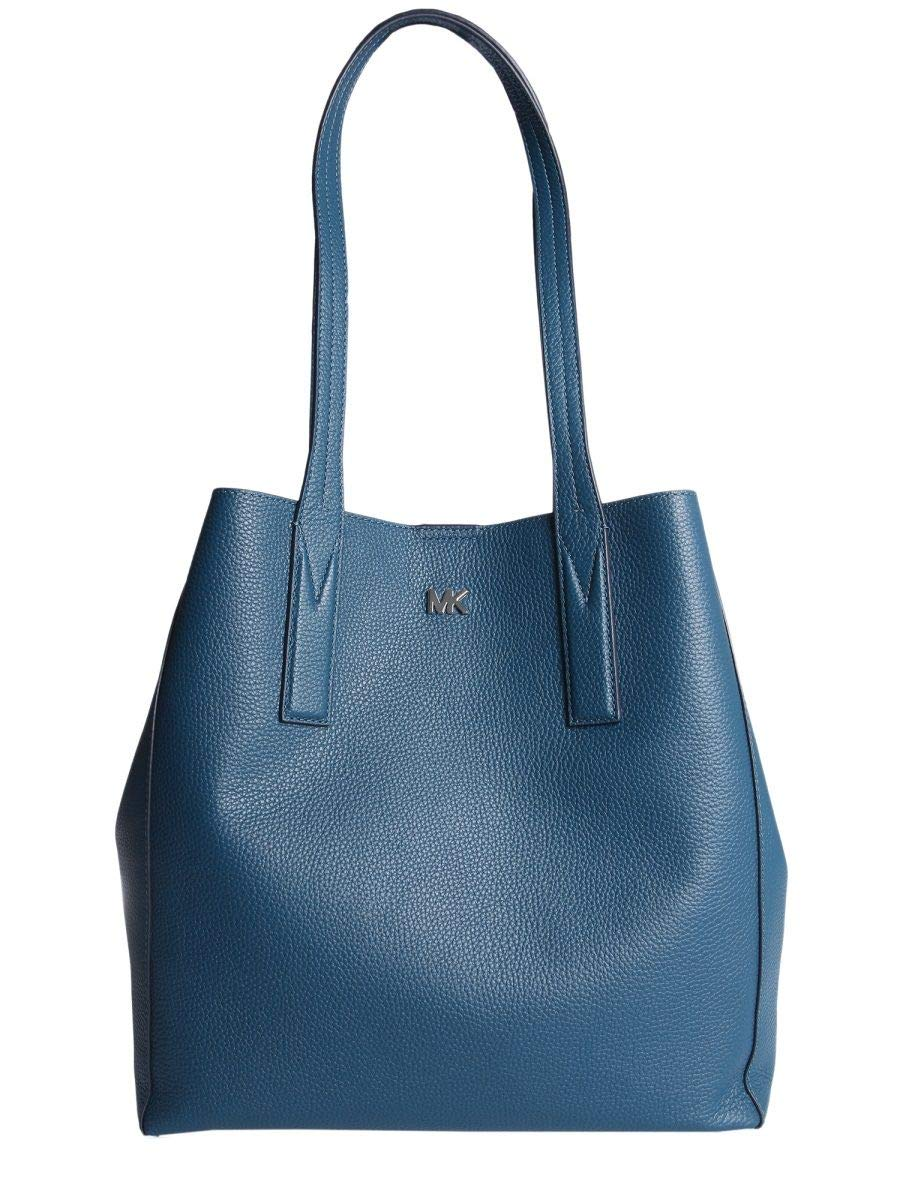 Michael By Michael Kors Women's 30F8sx5t3l402 Blue Leather Tote