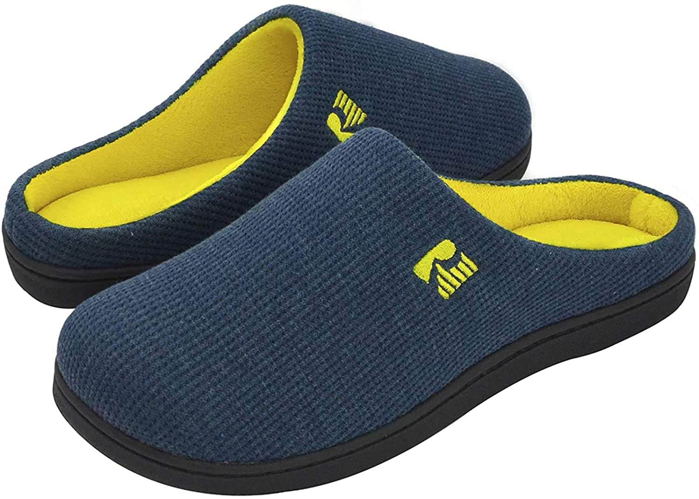 Rockdove Men/'s original bicolore en mousse à mémoire de slipper SW