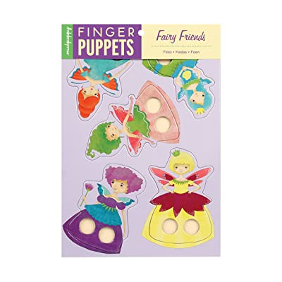 Mudpuppy Fairy Friends Finger Puppets: Mudpuppy, Coleman, Stephanie Fizer: Toys & Games [5Bkhe0204322]